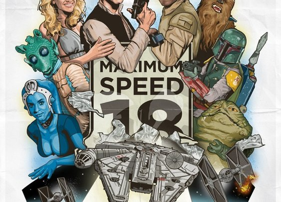 The Kessel Run, A Stars Wars Themed Spoof of The Cannonball Run