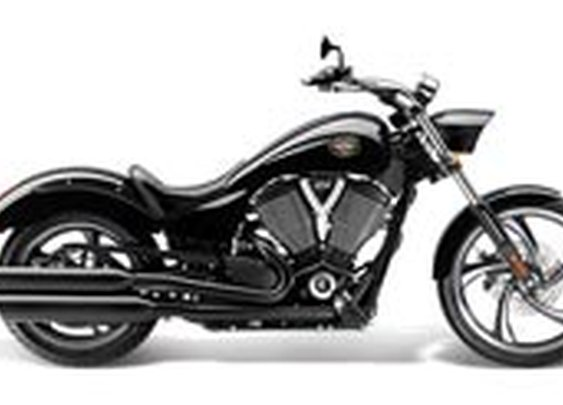Victory Vegas 8-Ball Motorcycle