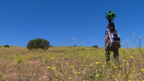 Google's Trekker brings Street View to hiking trails
