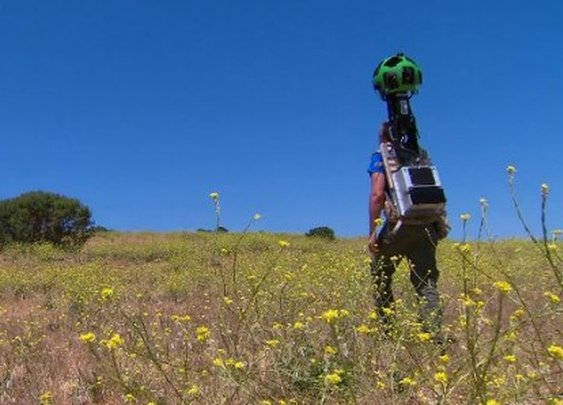 Google's Trekker brings Street View to hiking trails
