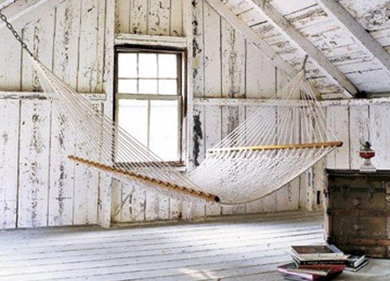 attic hammock.