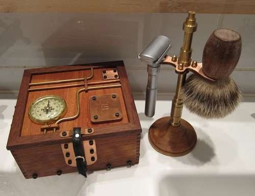 Steampunk shaving box