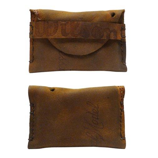 Fielder's Choice Goods — Repurposed Vintage Leather Wilson Glove Wallet