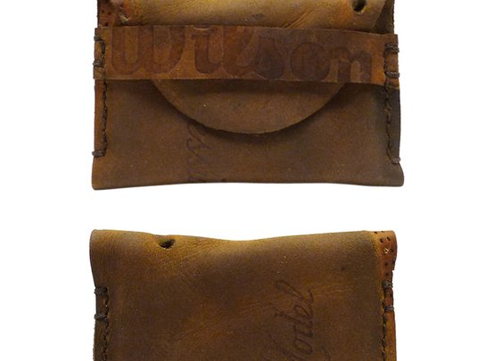 Fielder's Choice Goods — Repurposed Vintage Leather Wilson Glove Wallet