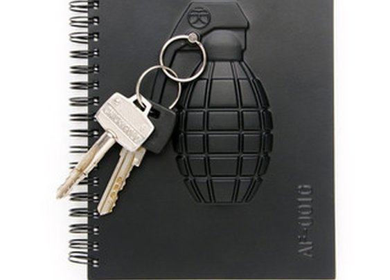 Grenade Armed Notebook