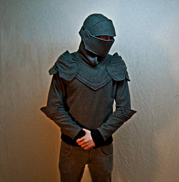 Suit of armor hoodie - Boing Boing