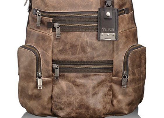 Knox Leather Backpack - Tumi