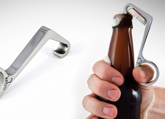 Kebo One Handed Bottle Opener