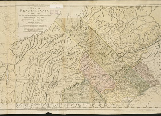 A map of Pennsylvania exhibiting not only the improved parts of that Province, but also its extensive frontiers | Flickr - Photo Sharing!