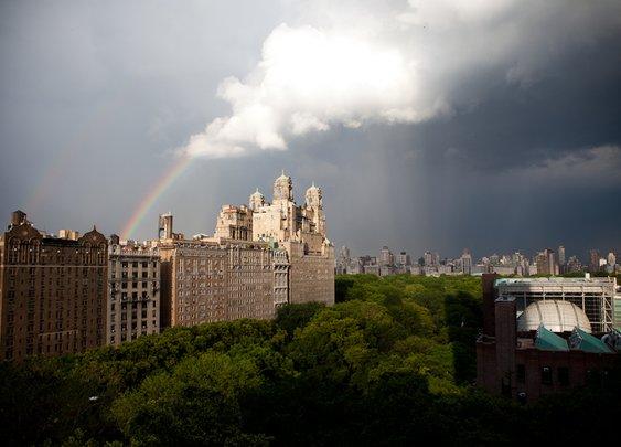 Double Rainbow over Central Park | New York Photography Blog