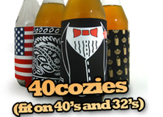Beer koozies for sale! 40oz, 22oz, 12oz & pint glass koozies