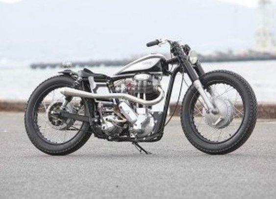 The Norton Model50 Gentleman by Heiwa Motorcycles