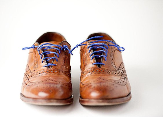 Colored Shoelaces | Forgetful Gentleman