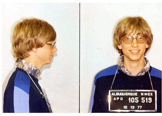 Bill Gates MUG SHOT   The Smoking Gun