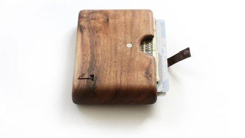 Slim Timber Wallets   inStash