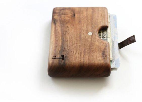 Slim Timber Wallets | inStash
