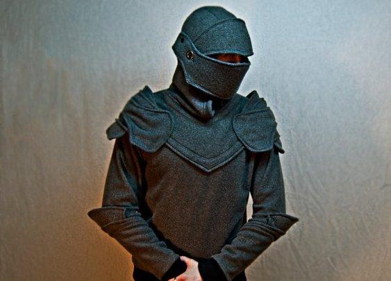 The Hoodie That Looks Like Armor