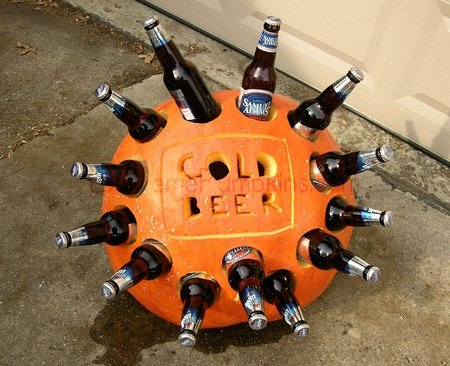 DIY - The Beer Cooler Pumpkin