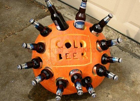 DIY - The Beer Cooler Pumpkin