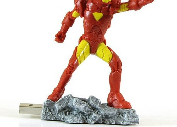 Iron Man USB Flash Drive - 4GB