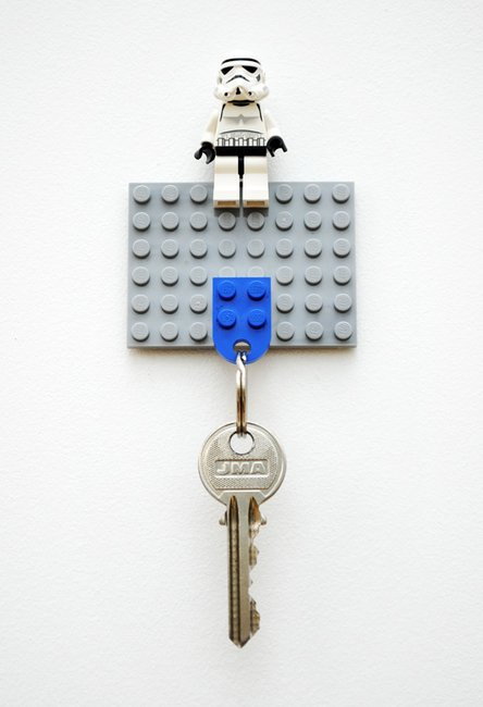 DIY Lego Key Holder | Mini-eco