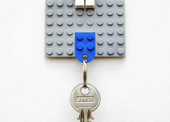 DIY Lego Key Holder | Mini-eco