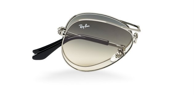 Folding Aviator Sunglasses from Ray-Ban - Buzzraid