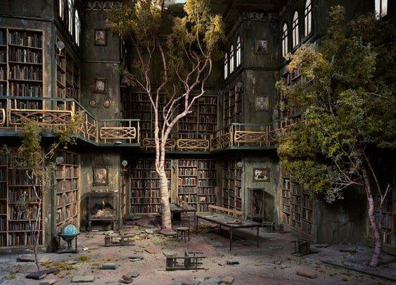 Tree, Wood, Books.  Life, Death, Afterlife.