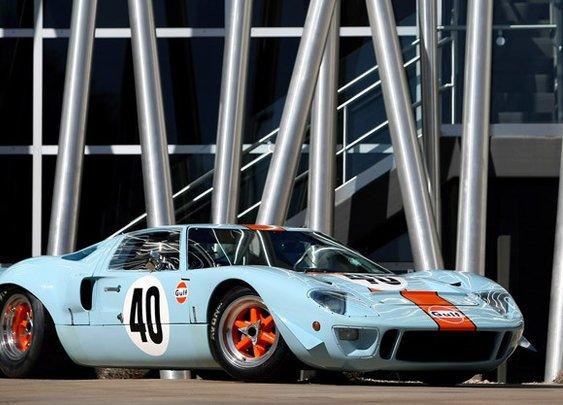 Gulf Oil racing livery