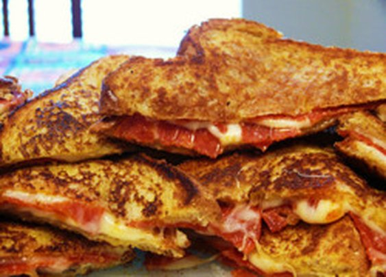 Pizza Grilled Cheese