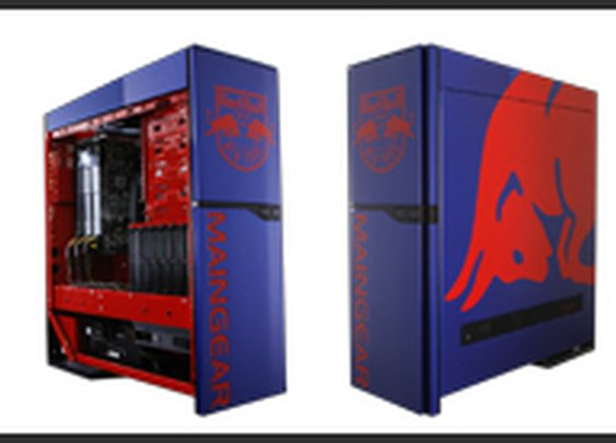 Maingear Super Shift as Featured in PC Review - Red Bull Customized