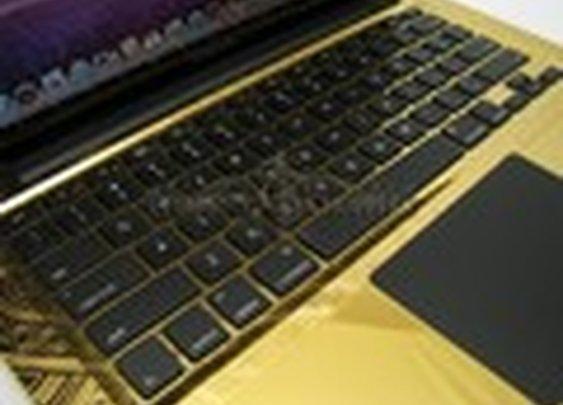 24-carat gold MacBook Pro