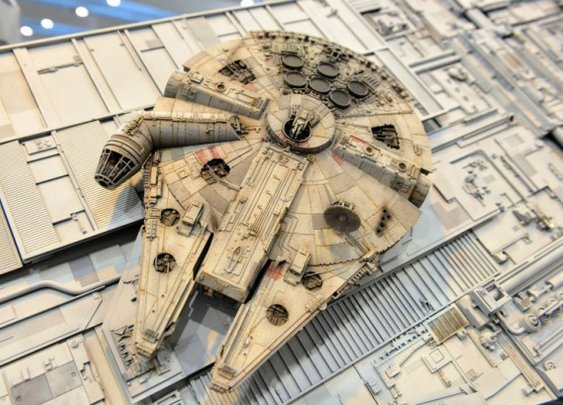Star Wars Dioramas: 3D Mobile Theaters