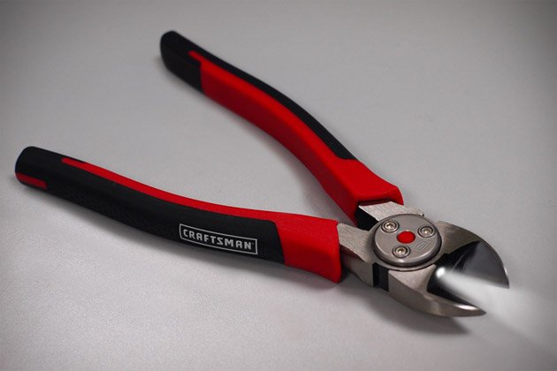 Craftsman Lighted Pliers | Uncrate