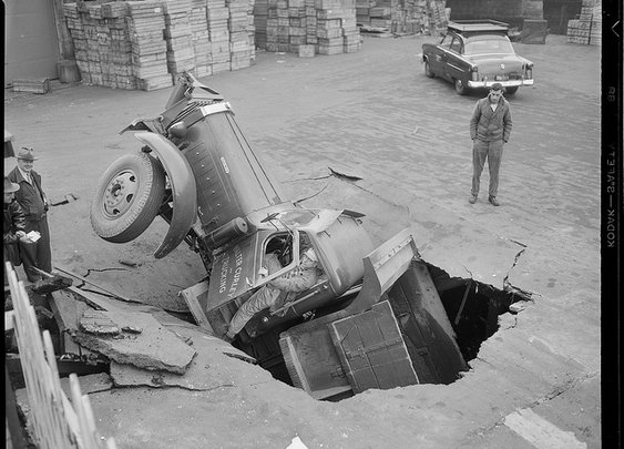 Vintage Photos of Auto Accidents in Boston (1920s-1950s)