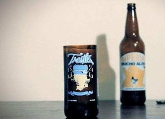Beer Bottle Pint Glass - D-I-Why Not Video - StumbleUpon