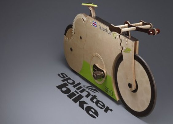New SplinterBike Quantum all-wooden bike launched in time for London 2012 Festival