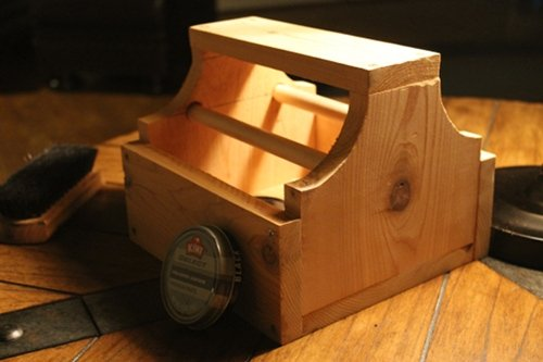 How to Make a Nifty Shoe Shine Box | The Art of Manliness