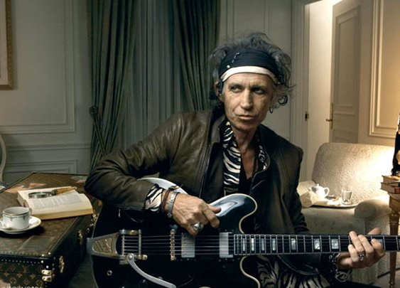 Keith Richards by Annie Leibovitz