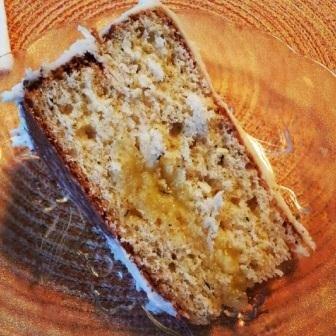 OGW: Recipes - Springtime Italian Cake (Limoncello & Thyme)