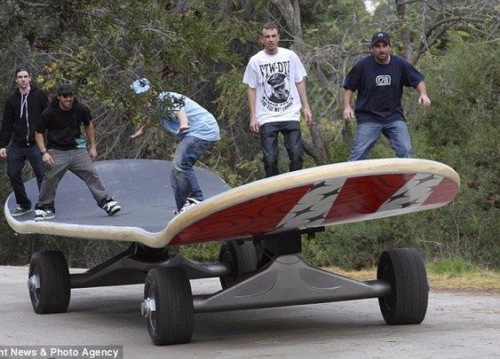 A manly skateboard !!