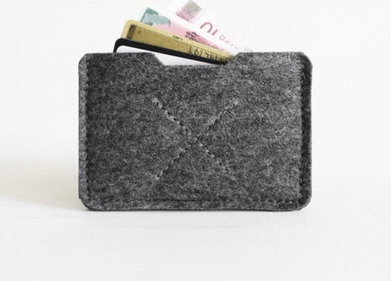 Organic Wool Heritage Card Sleeve Wallet