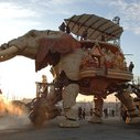 A 49-Passenger Mechanical Elephant