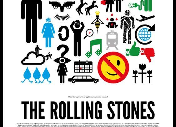 Pictogram Rock Posters By Viktor Hertz