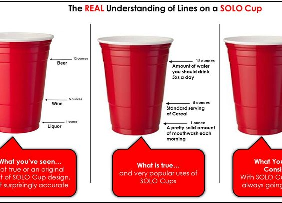 The real truth to a Solo cup!