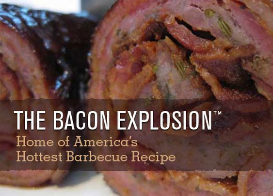 Buy the Bacon Explosion - Ready to Heat and Eat!