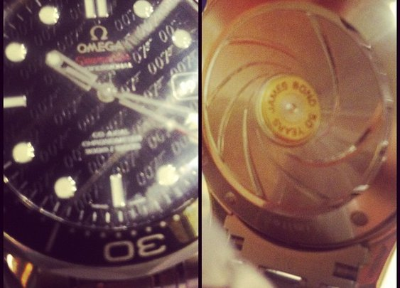 Omega Sea master James Bond 50th anniversary edition. | Flickr - Photo Sharing!