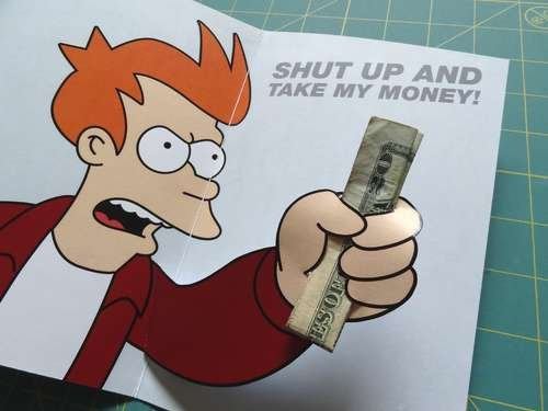 Futurama Birthday Card