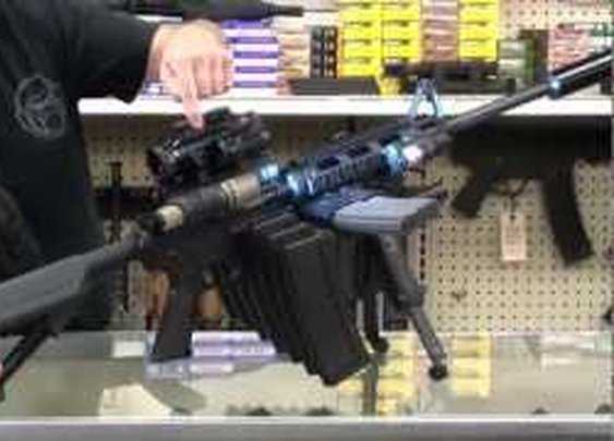 THE ULTIMATE AR-15 MALL NINJA TACTICAL ZOMBIE DESTROYER!      - YouTube
