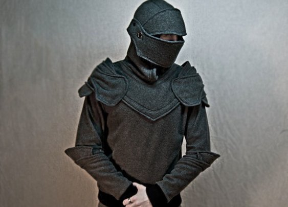 Knight's Armor Hoodie: Fight Dragons In Your Spare Time!